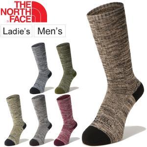 ソックス 靴下 メンズ レディース/ザノースフェイス THE NORTH FACE トレッキング ミッドウエイト クルー/パイルソックス/NN81826|apworld