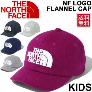 キッズ キャップ 男の子 女の子 子ども THE NORTH FACE ザ・ノースフェイス TNF ロゴフランネルキャップ 子供用 帽子 ぼうし 正規品 /NNJ41716 apworld