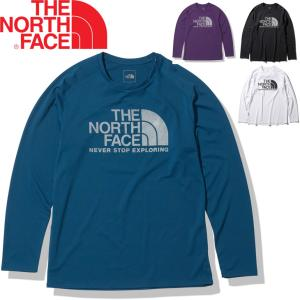 Tシャツ 長袖 ランニングシャツ メンズ ノースフェイス THE NORTH FACE L/S GTDロゴクルー/スポーツウェア トレーニング ジョギング ジム/NT12093 apworld