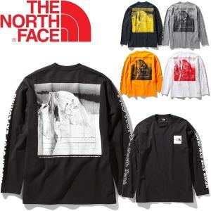 長袖 Tシャツ メンズ THE NORTH FACE ノースフェイス ロングスリーブ スリーブグラフ...