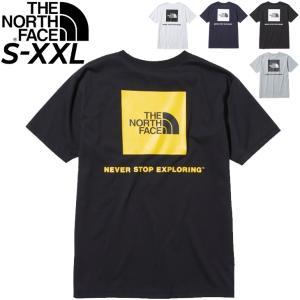 メンズ 半袖Tシャツ ノースフェイス THE NORTH FACE  S/S バックスクエアーロゴティ/アウトドアウェア カジュアル バックプリント 速乾 クルーネック /NT32144|APWORLD