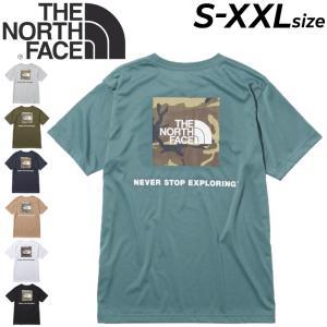 Tシャツ 半袖 メンズ ノースフェイス THE NORTH FACE スクエアカモフラージュティー/アウトドア カジュアル ウェア 速乾 バックプリント クルーネック /NT32158|APWORLD