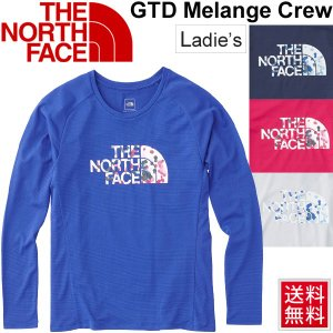 Tシャツ 長袖 レディース/THE NORTH FACE ザノースフェイス GTDロゴクルー/ランニングシャツ スポーツウェア 女性用 長袖シャツ/ NTW61875|apworld