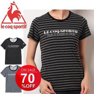 Tシャツ 半袖 レディース ルコック le coq sportif 女性用 トレーニング ランニング スポーツ QB015873 吸汗速乾 UVカット/QB-015873|apworld