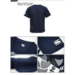 Tシャツ 半袖 メンズ カンタベリー cant...の詳細画像2