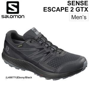 トレイルランニング シューズ メンズ サロモン salomon SENSE ESCAPE 2 GTX...