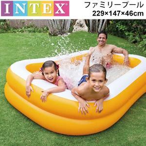 ビニールプール 家庭用プール インテックス INTEX社 マンダリンスイムセンターファミリープール/...