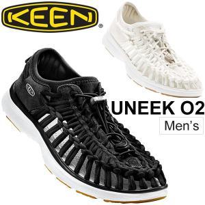 KEEN サンダル メンズ UNEEK O2 ユニーク アウトドアシューズ オープンエアスニーカー 水陸両用 レジャー 男性用 靴 keen 正規品 1017050 1017054/UneekO2|apworld