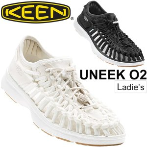 KEEN サンダル レディース UNEEK O2 ユニーク アウトドアシューズ オープンエアスニーカー 水陸両用 レジャー 女性用 靴 keen 正規品 1017055 1017059/UneekO2W|apworld