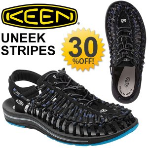 KEEN キーン UNEEK ROUND CORD サンダル メンズ シューズ 靴 アウトドア ペタンコ フラットサンダル 男性 フットウェア/1014617|apworld