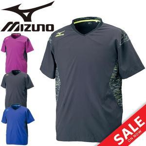 ブレーカーシャツ バレーボールシャツ メンズ レディース ミズノ MIZUNO 半袖 Tシャツ 練習 部活 クラブ トレーニング ユニセックス/V2ME7501|apworld