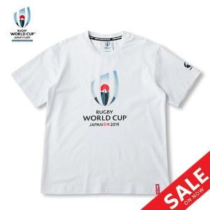 Tシャツ ラガーシャツ メンズ 半袖 ラグビーワールドカップ/カンタベリー canterbury ロゴT/スポーツウェア タウンユース  /VWD39400-10