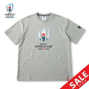 Tシャツ ラガーシャツ メンズ 半袖 ラグビーワールドカップ/カンタベリー canterbury ロゴT/スポーツウェア タウンユース /VWD39400-GR