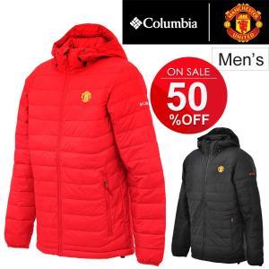コロンビア Columbia マンチェスターユナイテッド マンU オフィシャル メンズ 中綿ジャケット 防寒 正規品 男性 アウトドア サッカー アウター/XO1642|apworld