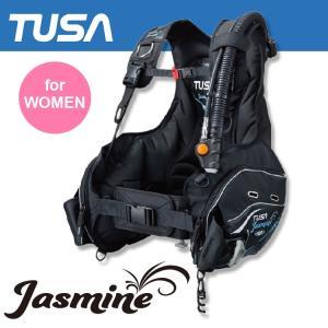 BC TUSA/ツサ ジャスミン BC0401B 女性向け ダイビング 重器材|aqrosnetshop