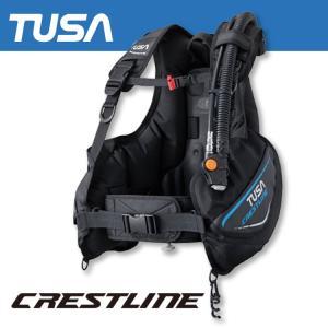 ダイビング BC TUSA/ツサ BC0601B クレストライン ダイビング用 BCJ[20104033]|aqrosnetshop