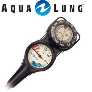 【残圧計】【コンパス】AQUALUNG/アクアラング トラスト2ゲージ(コンパスタイプ)【612460】[204050170000]|aqrosnetshop