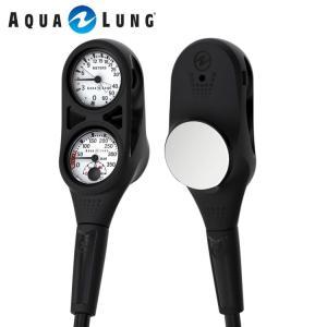 ゲージ AQUALUNG/アクアラング プレシス2ゲージ(残圧計+水深計)[204050280000]|aqrosnetshop