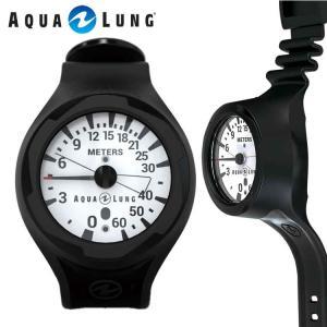 ゲージ AQUALUNG/アクアラング プレシス リストタイプ デプスゲージ(水深計)[204050300000]|aqrosnetshop