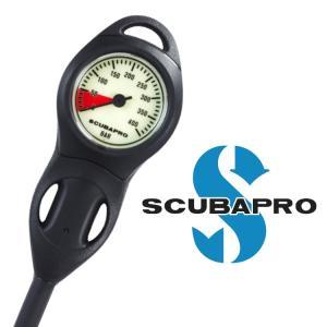 ダイビング 重器材 ゲージ SCUBAPRO スキューバプロ Sプロ コンパクト残圧計|aqrosnetshop