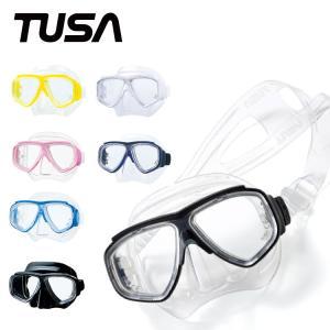 ダイビングマスク TUSA/ツサ M7500/M7500QB スプレンダイブII マスク 軽器材 水中メガネ 二眼タイプ|aqrosnetshop