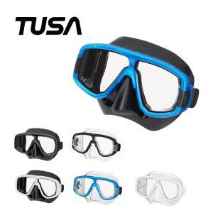 ダイビングマスク TUSA/ツサ M20/M20QB プラチナ マスク 軽器材 水中メガネ 二眼タイプ|aqrosnetshop