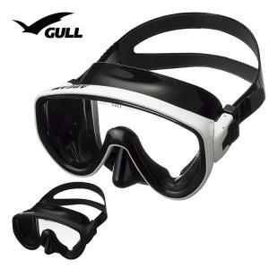 ダイビングマスク GULL/ガル アビームブラックシリコン GM-1432|aqrosnetshop