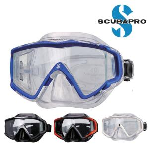 ダイビング 軽器材 マスク SCUBAPRO スキューバプロ Sプロ Crystal Vu Mask|aqrosnetshop