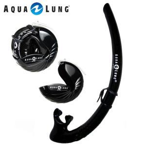 ダイビング用スノーケル AQUALUNG/アクアラング ノーチラストラベルスノーケル[302050130000]|aqrosnetshop