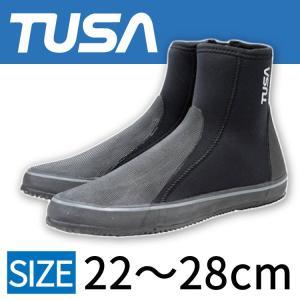 ダイビング用ブーツ TUSA/ツサ ダイビング用ロングブーツ DB-3014 ファスナー付き[30404004]|aqrosnetshop