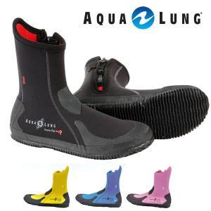 【ダイビングブーツ】AQUALUNG/アクアラング エルゴブーツ(サイドファスナー付き)|aqrosnetshop