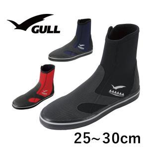 ダイビングブーツ GULL/ガル GSブーツ2 メンズ ダイビング ブーツ ファスナー付|aqrosnetshop