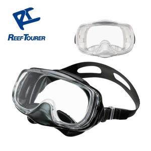 【スノーケリング用マスク】REEF TOURER マスク RM33Q【男女兼用10歳〜大人向け】[31103010] リーフツアラー|aqrosnetshop