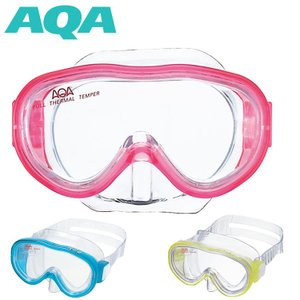 スノーケリング用マスク AQA アコライト ジュニア KM-1084H[31110052]