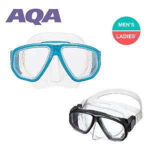 スノーケリングマスク AQA デュオソフト2 マスク 水中メガネ|aqrosnetshop