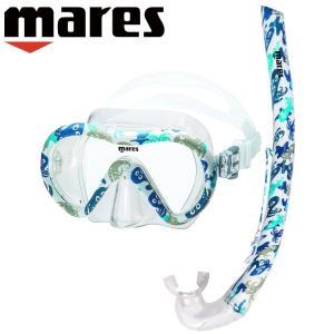 シュノーケル セット 子供用 mares マレス VENT Jr ENERGY SET キッズ 2点|aqrosnetshop