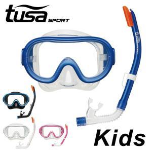 tusa sport/ツサスポーツ シュノーケル 2点セット 子ども用 UC0201[32203022]|aqrosnetshop