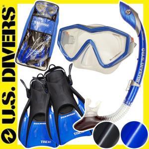USダイバーズ ドライスノーケル付 スノーケリングセット4点 男性向き[32405011] aqrosnetshop