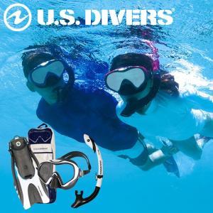 スノーケリングセット USダイバーズ スターバック3LX P 4セット|aqrosnetshop