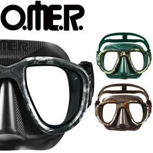 フリーダイビング マスク O.ME.R オマー エイリアン スキンダイビング 軽器材|aqrosnetshop