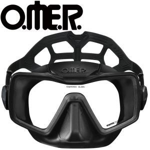 フリーダイビング マスク O.ME.R オマー アプネア スキンダイビング 軽器材|aqrosnetshop