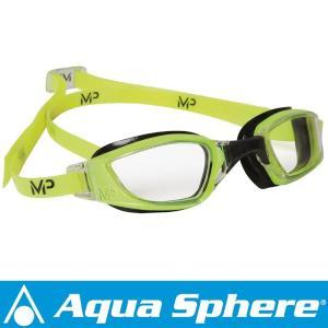 Aqua Sphere/アクアスフィア エクシード  クリアレンズ イエロー/ブラック[381050030000]|aqrosnetshop