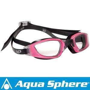 Aqua Sphere/アクアスフィア エクシードレディ クリアレンズ ピンク/ブラック[381050070000]|aqrosnetshop