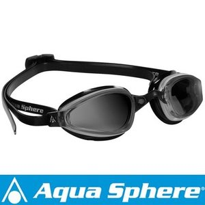 Aqua Sphere/アクアスフィア K180 ダークレンズ シルバー/ブラック[381050147700]|aqrosnetshop