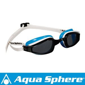 Aqua Sphere/アクアスフィア K180 ダークレンズ レディ ホワイト/ライトブルー[381050174500] aqrosnetshop