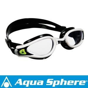 Aqua Sphere/アクアスフィア ケイマンエグゾー クリアレンズ ホワイト/ブラック R[381050198300]|aqrosnetshop