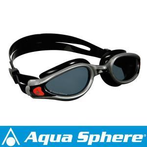 Aqua Sphere/アクアスフィア ケイマンエグゾー ダークレンズ シルバー/ブラック R[381050207700]|aqrosnetshop