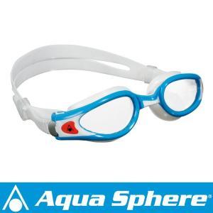 Aqua Sphere/アクアスフィア ケイマンエグゾー クリアレンズ ライトブルー/ホワイト S[381050214500]|aqrosnetshop