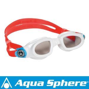Aqua Sphere/アクアスフィア モビーキッズ ダークレンズ ホワイト[381050310000] aqrosnetshop