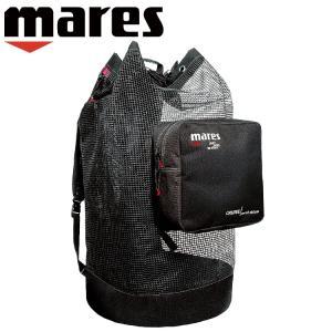 ダイビング メッシュバッグ mares マレス クルーズ バックパック メッシュ デラックス 軽器材|aqrosnetshop